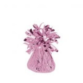 Small Foil Balloon Weight- Pink