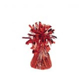 Small Foil Balloon Weight- Red