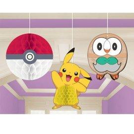Pokemon Honeycomb Hanging Decorations