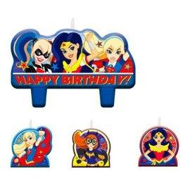 Candle Birthday Set Superhero Girl