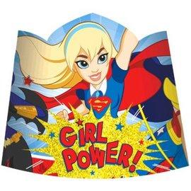 Paper Tiaras Superhero Girl 8 Count