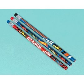 Pencils Hot Wheels Racer 12Ct