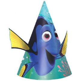 ©Disney/Pixar Finding Dory Paper Cone Hat, 8ct- Clearance