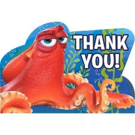 ©Disney/Pixar Finding Dory Postcard Thank You, 8ct- Clearance