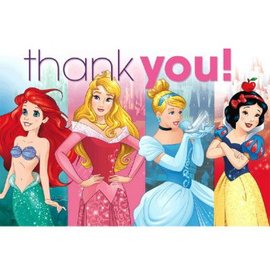 Disney Princess Thank You - 8ct