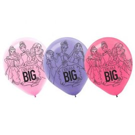 Balloons Disney Princess 15 Count