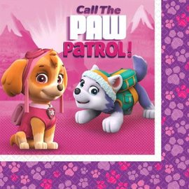 Paw Patrol™ Girl Luncheon Napkins-16ct - Clearance
