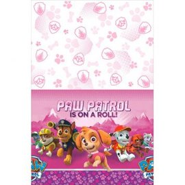 Paw Patrol™ Girl Plastic Table Cover - Clearance
