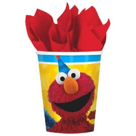 Sesame Street® Cups, 9 oz. -8ct