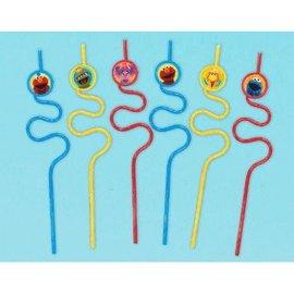 Sesame Street® Straw Favors-12ct