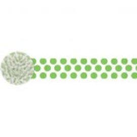 Dots Crepe ‑ Kiwi, 81'