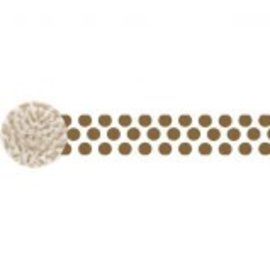 Dots Crepe ‑ Gold, 81'