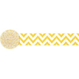 YELLOW CHEVRON STRMR
