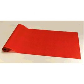 Hollywood Red Fabric Floor Runner Decoration-15' x 2'