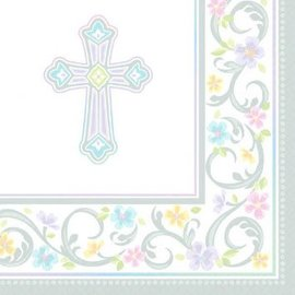 Blessed Day Luncheon Napkins-36ct