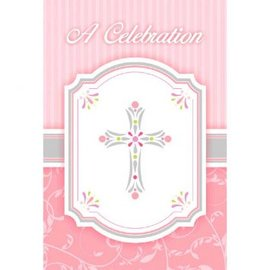 Blessings Pink Postcard Value Pack Invitations-20ct
