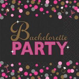 Bachelorette Night Beverage Napkins 16ct.