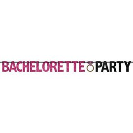Bachelorette Party Banner - Glitter