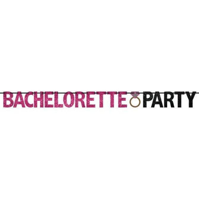 Bachelorette Party Banner - Glitter