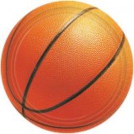 Basketball Fan Dinner Plates 8ct