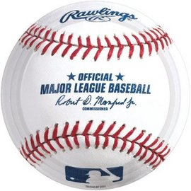 "Rawlings™ Baseball Round Plate, 7"" -8CT"