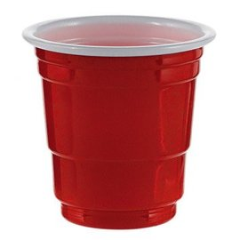 Shot Glasses - Red 30ct