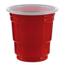 Shot Glasses - Red 30ct
