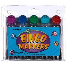 Markers Bingo Set Of 5