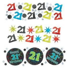 21st Birthday Confetti