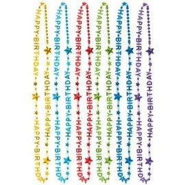 Rainbow Necklaces 6 ct