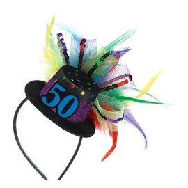 50th Birthday Fascinator