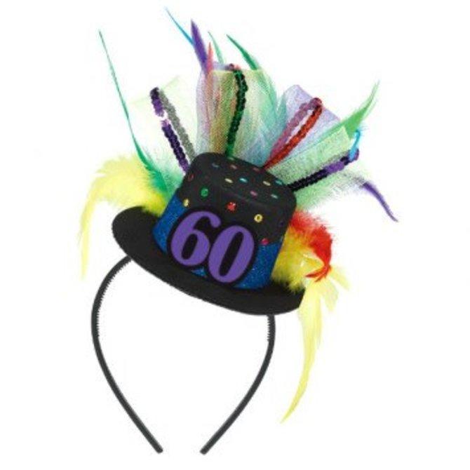 60th Birthday Fascinator