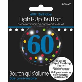 60th Birthday Flashing Button