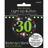 30th Birthday Flashing Button