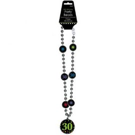 30th Birthday Party Bead Necklace