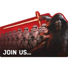 Star Wars™ Episode VII Poscard Invite 8ct