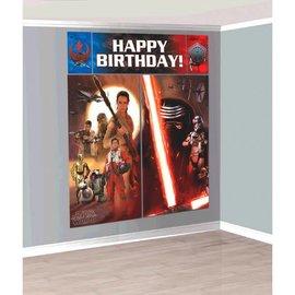 Star Wars™ Episode VII Scene Setter® Wall Decorating Kit