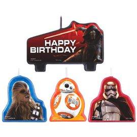 Star Wars™ Episode VII Birthday Candle Set