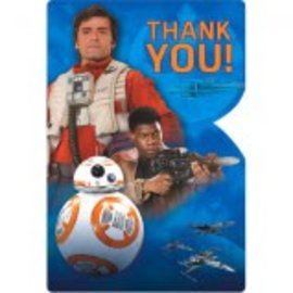 Star Wars™ Episode VII Postcard Thank You 8ct