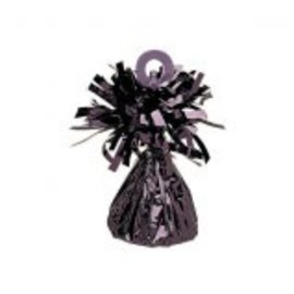 Small Foil Balloon Weight- Black