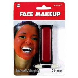 Red Face Makeup