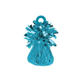 Small Foil Balloon Weight - Caribbean Blue