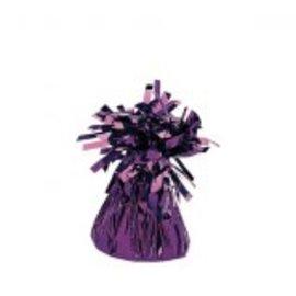 Small Foil Balloon Weight - Purple