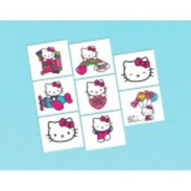 Tattoos Hello Kitty Rainbow 16Ct