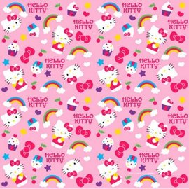 Hello Kitty Rainbow Gift Wrap