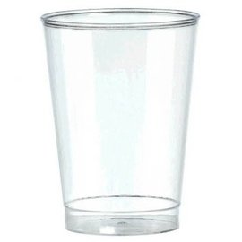 Big Party Pack Clear Plastic Tumblers, 10oz. 72ct