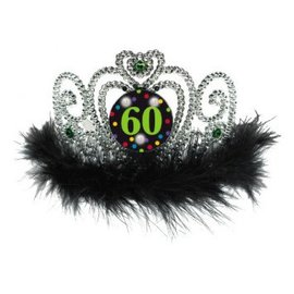 60th Birthday Flashing Tiara