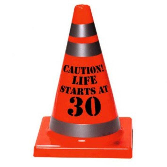 30th Birthday Cone