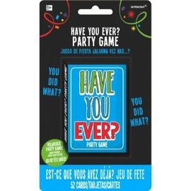 """Have You Ever"" Card Game"