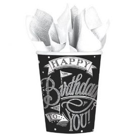 Hooray, It's Your Birthday Cups, 9 oz. -18ct